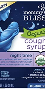 Organic Baby Cough Syrup Night Time