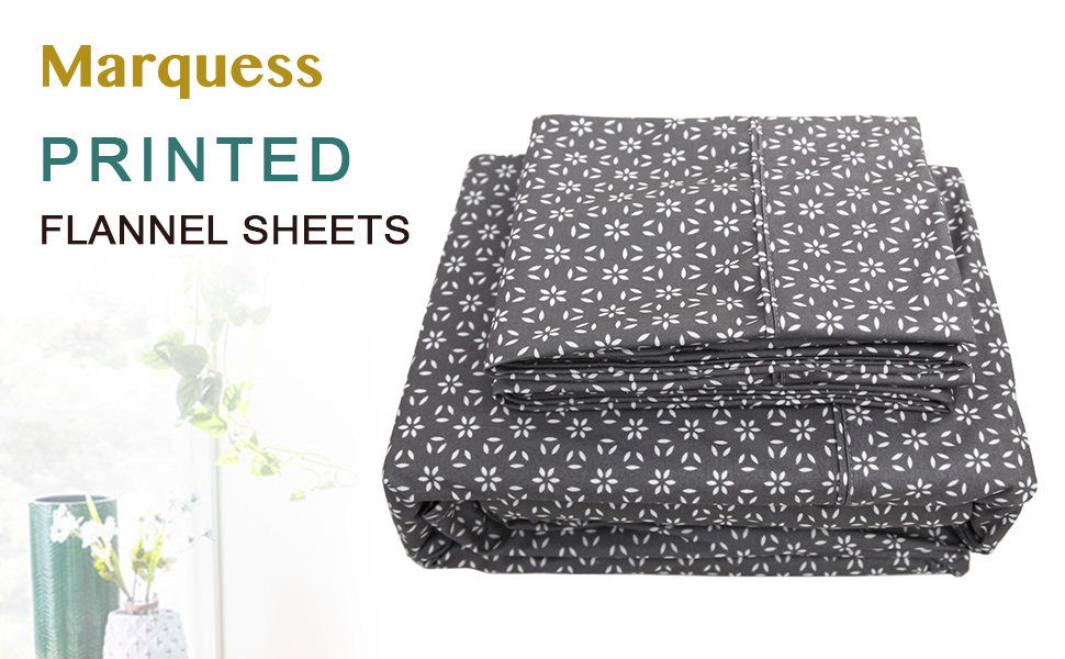 4 Piece flannel sheets