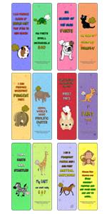 Animal farting bookmark