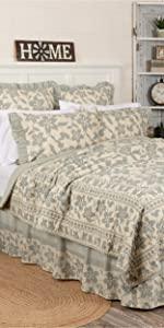 vhc brands, bedding, farmhouse, home decor, april and olive, briar sage