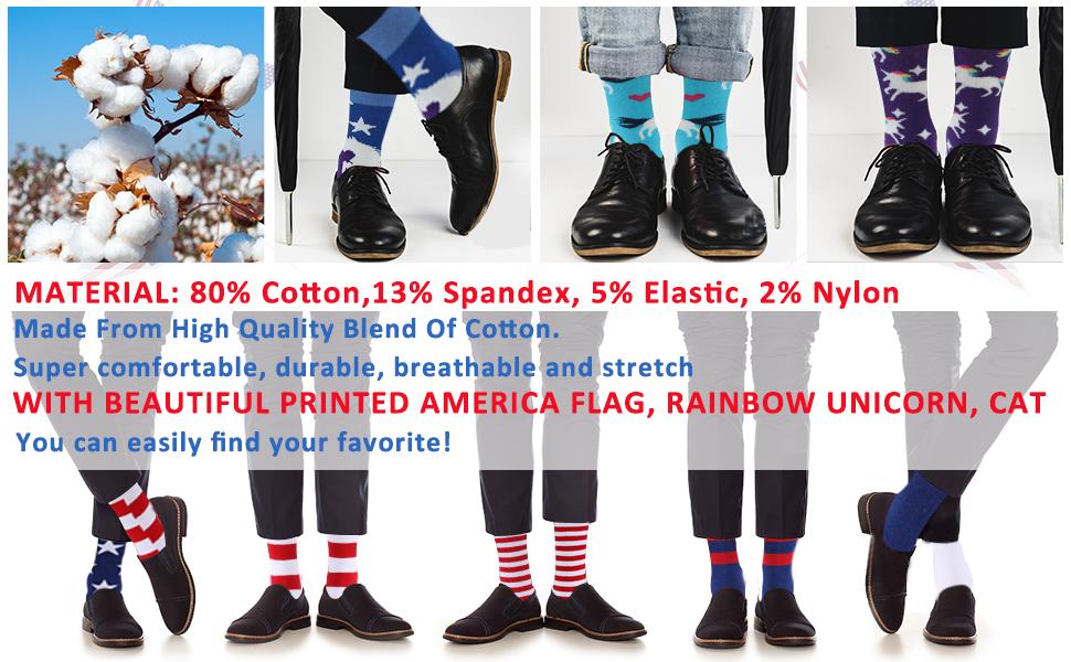 american flag socks men