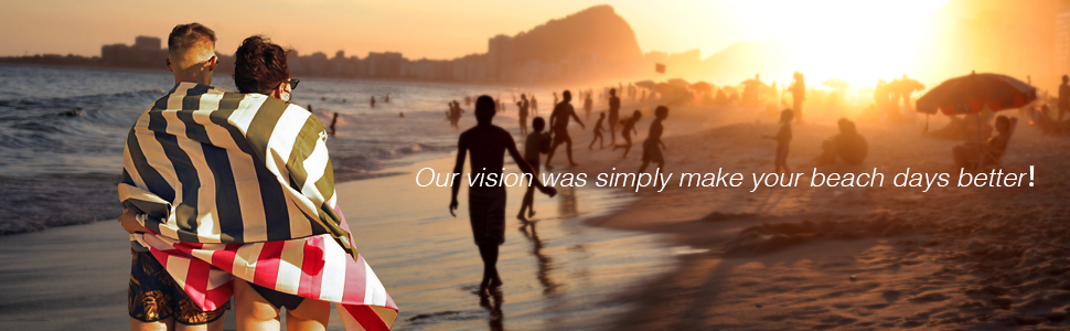 Our vision was simply make your beach days better!