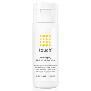 TOUCH SPF 30 MOISTURIZER FOR FACE