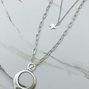 Chain Link Charm Necklace