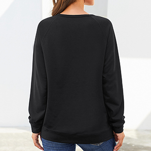 women sweatshirt blouse