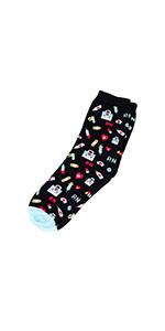 Nurse Socks, Meds Crew Socks, Women's Novelty Socks Graduation Gift for Nurses