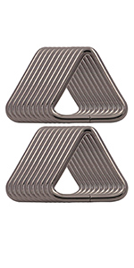 1.2'' triangle buckles