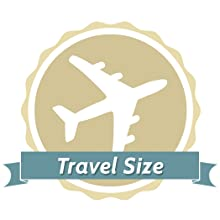 TSA Travel Size for Convenient Transportation in Purse, Car, Airplane, Pocket, etc.