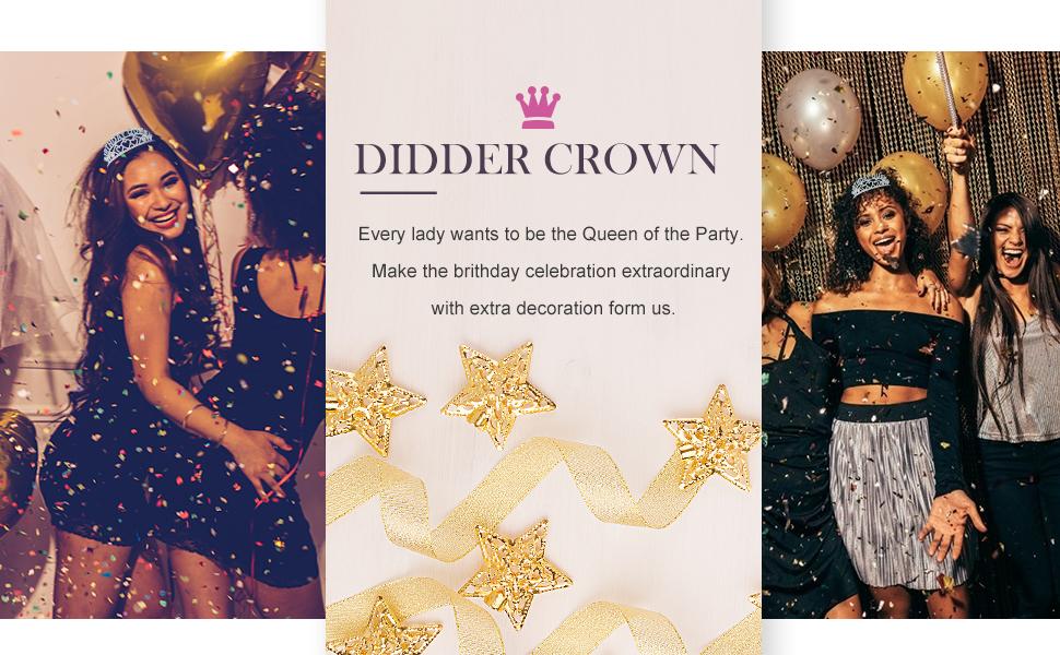Birthday Crowns for Women