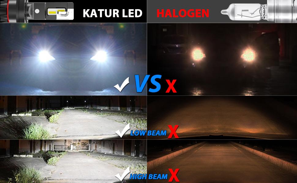 H4 Led Headlight Bulbs