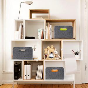 drawer organizer bins felt storage bin large basket closet ox collapsible bins
