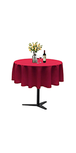 50 Inches Round Tablecloth