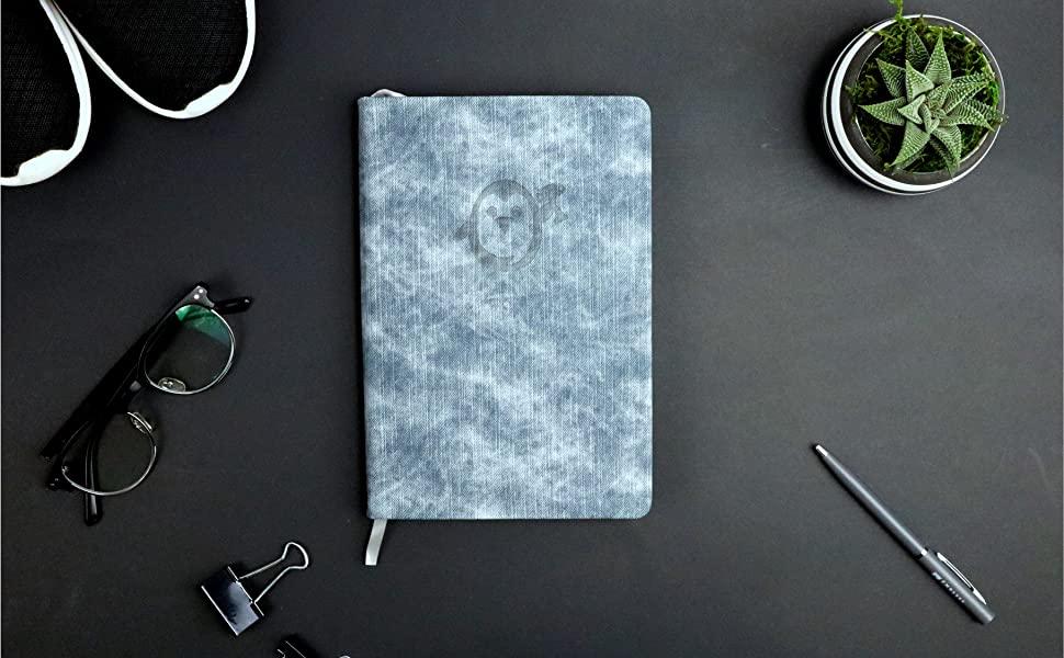 nondated daily planner- gratitude journal planner hardcover best ritual habit tracker women Penguin