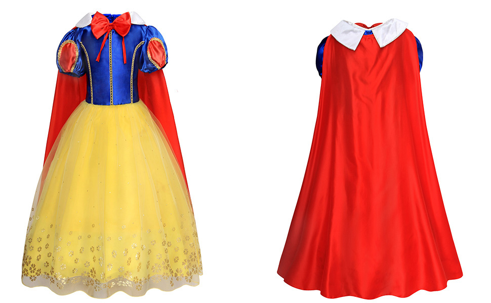 princess costume outfits dress up cosplay clothes Capes HG093-all