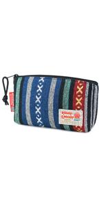 rough enough small toiletry bag folk toiletry bag zipper pouch makeup organizer for travel school