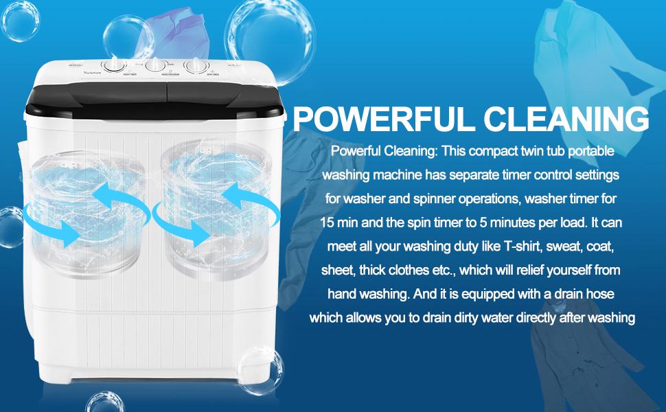 washing machine powerfull