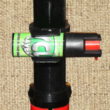 Pepper Spray Mount For Seat Post