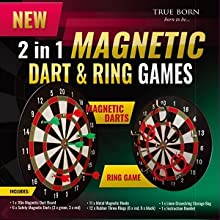 Magetic Dart and Ring Throw Game