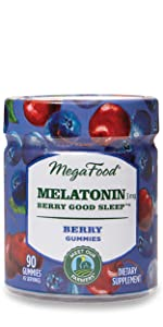 Melatonin Berry Good Sleep Gummies