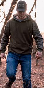 camo hoodie sweatshirt venado