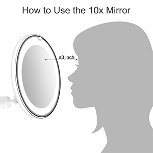 magnifying mirror