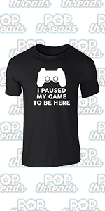 Gamer Gifts Video Game Merchandise Gaming Funny Graphic Tee T-Shirt for Men…