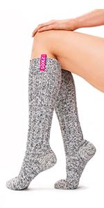 women, wool, socks, heavy duty, warm socks, thick, winter wear, clothing, soxs.co, eco wool, girls