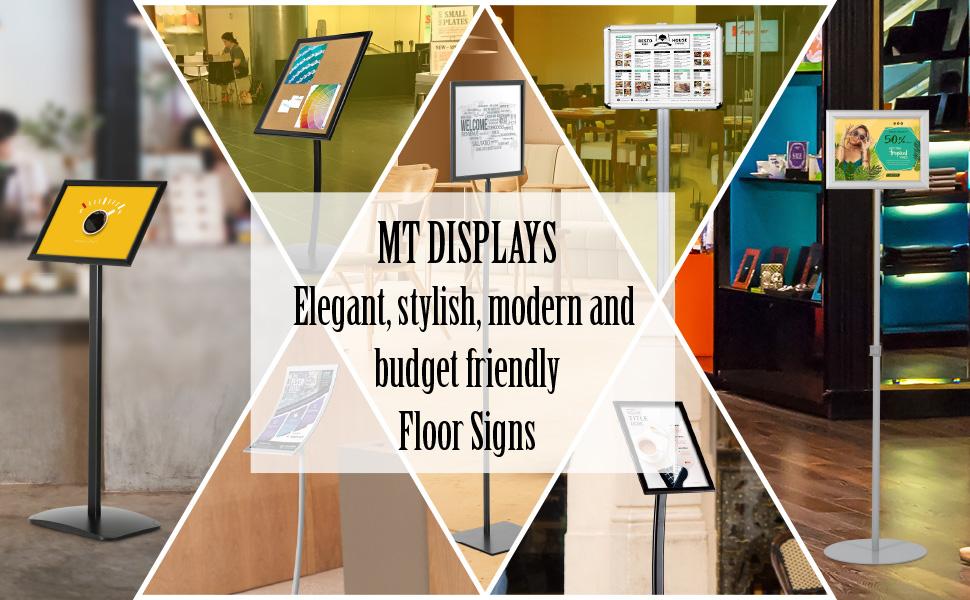 MT displays Menuboard