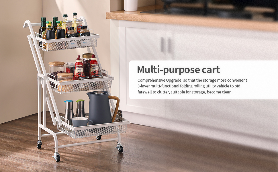 utility rolling cart