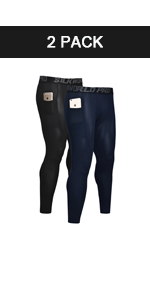 Men's Compression Pants with 2 Pockets
