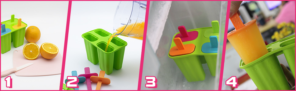ice cream mold silicone