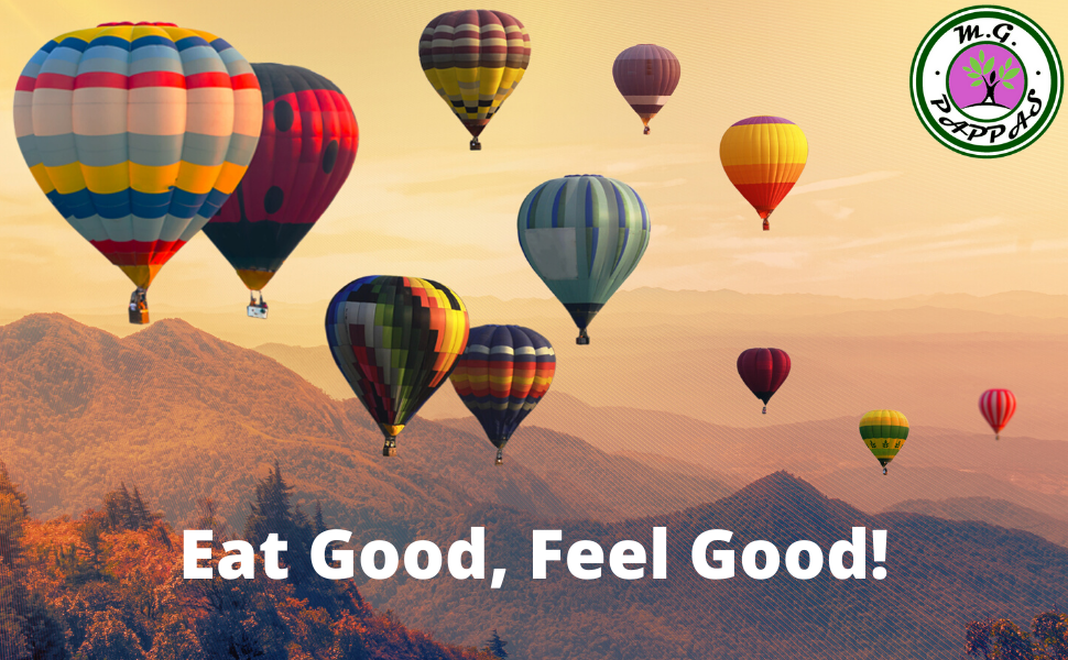 M.G. PAPPAS EAT GOOD FEEL GOOD