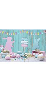 bunny basket lily flowerpot flower faux colorful buntings dessert revive texture fence natura