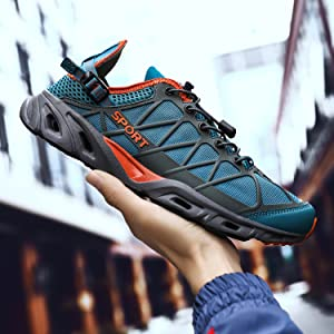 Mens Womens Quick Drying Aqua Water Shoes for Sports Walking Outdoor Running Hiking Swim Fishing