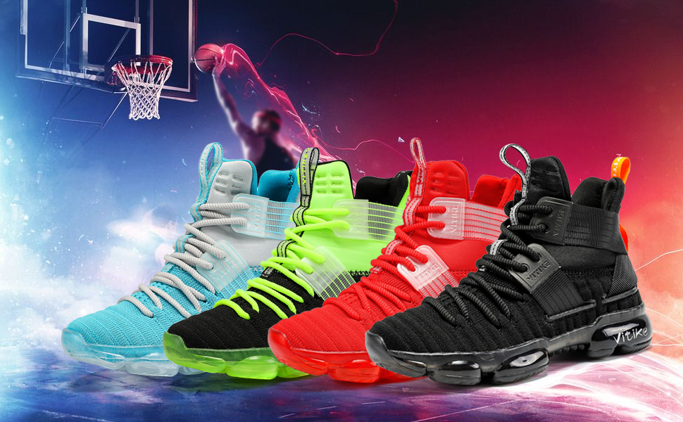 boys basketball shoes cool colorful
