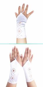 first communion white glove for little girls gloves dress up holy communion gloves