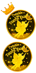 Tooth Fairy Coins -Set of 3