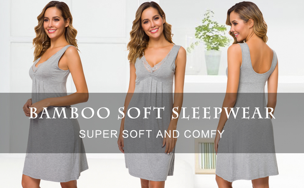Womens Bmaboo Nightgown