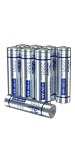 8 aa rechargeable batteries