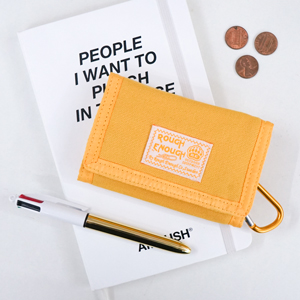 Portable canvas wallet is designed in fancy vintage cool funny simple cute practical stylish fashion