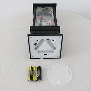Battery Powered Snow Globe Lantern