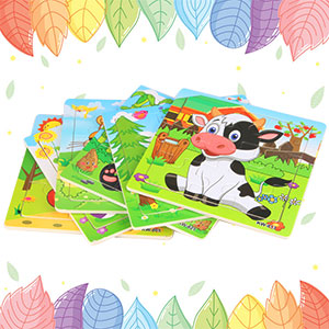 Wooden Animals Jigsaw Puzzles