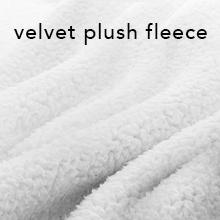 velvet plush fleece