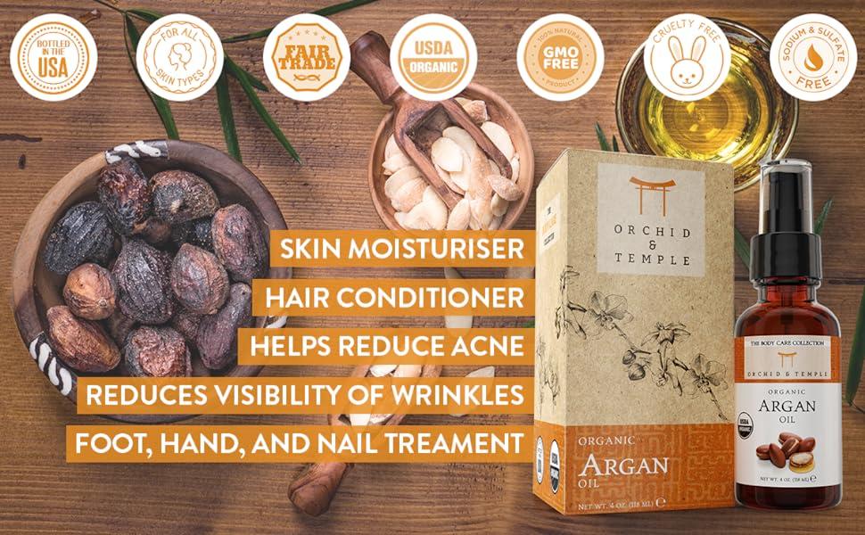 argan oil uses