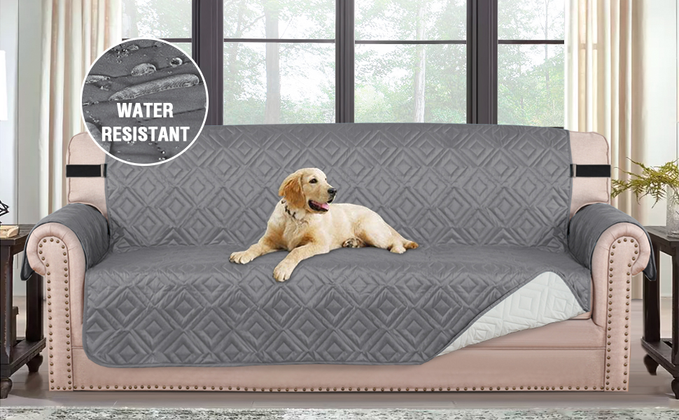 water resistant sofa slipcover for 2 seater sofa cover
