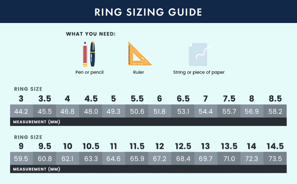 Enso Ring Sizing Guide