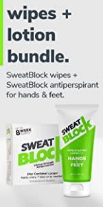 SweatBlock Lotion Bundle