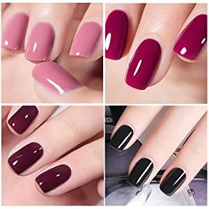 gel nail polish set