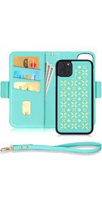 Phone 11 Pro Detachable Wallet Case for 5.8 inch