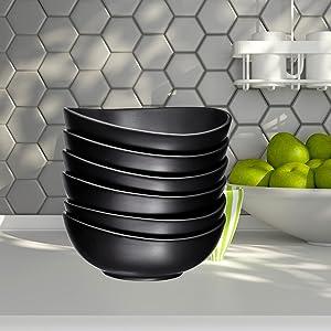 Porcelain Bowls - 10 Ounce for Ice Cream Dessert, Small Side Dishes, dessert ice cream bowls, bowls